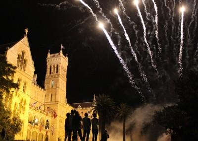 ICMS (Australien) - Campus Fireworks!