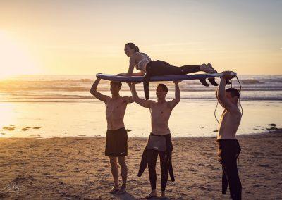 National University (USA) - Surfing in La Jolla