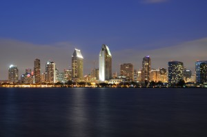 NU - Skyline San Diego at Night