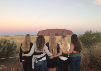 ICMS (Australia) - Girls at Uluru