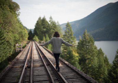 VIU (Kanada) - Train tracks