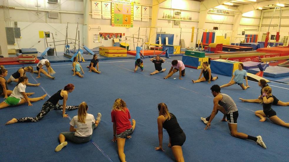 "Club Sport ""Gymnastics and Cheerleading"" and der UNCW"