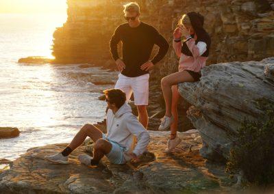 ICMS (Australien) - Sonnenuntergang an den Klippen