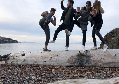 VIU (Kanada) - Spaß im Neck Point Park