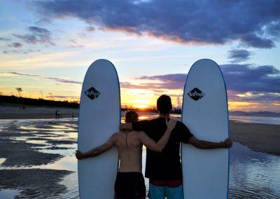 ICMS (Australien) Surfers in der Byron Bay